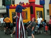 B Happie Stilt Walkers in PA