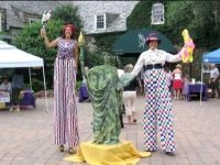 Ralph Rood PA Stilt Walkers