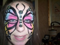 Rent a Body Mardi Gras Face Painting in PA