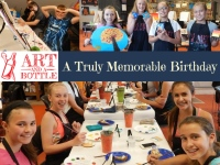 Art and a Bottle birthday party places in Lancaster County PA