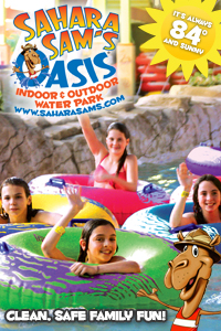 Sahara Sams Oasis kids day trips in PA