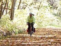 The Great Allegheny Passage Bike Trail in PA