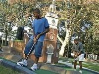 Mini Golf in Philly Franklin Square