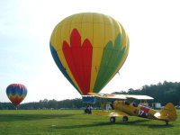 light-flight-hot-air-balloons-Inc. & Barnstormer-Aero-airplane-rides-pa